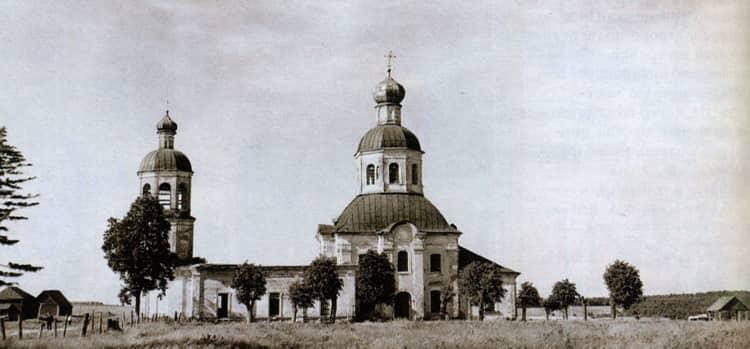 Храм Петра и Павла в Ясенево и его исторический вид