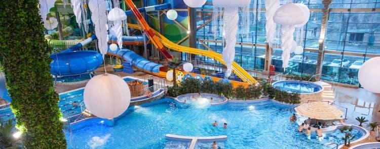 h2o аквапарк с горкой Летающие лодки