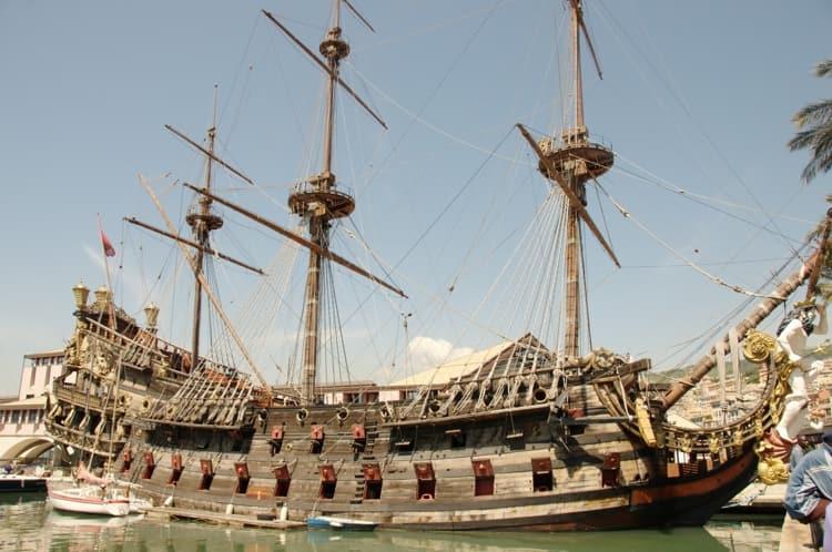 Город Пиза и его достопримечательности - Музей древних кораблей