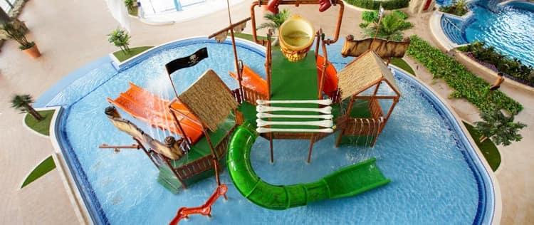 h2o аквапарк с детской площадкой - Пиратский городок