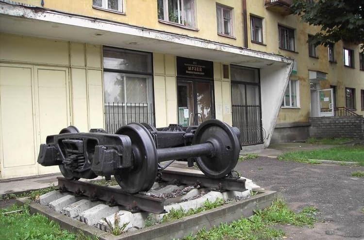 Псков и его достопримечательности - Псковский железнодорожный музей
