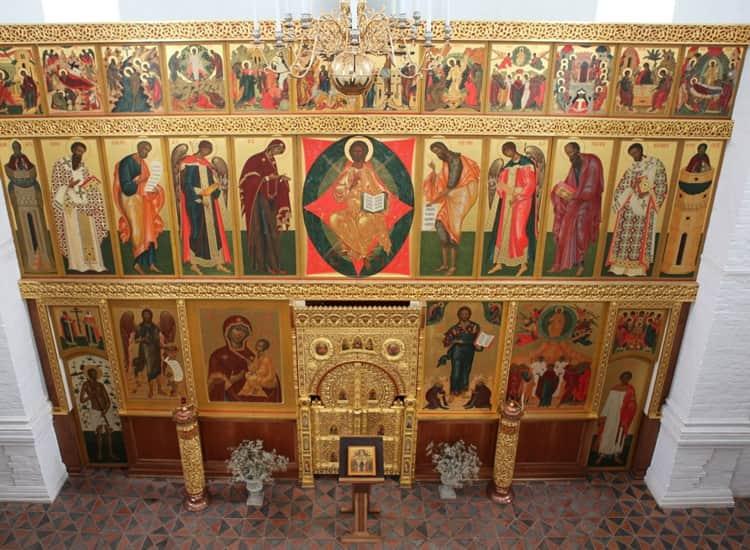 Церковь Вознесения в Коломенском и ее достопримечательность - Старинный тябловый иконостас