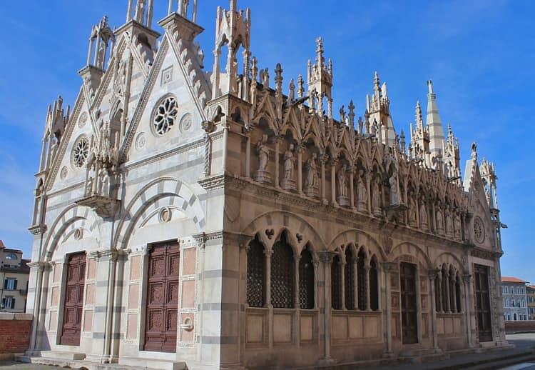 Город Пиза и его достопримечательности - Церковь Богоматери Шипа