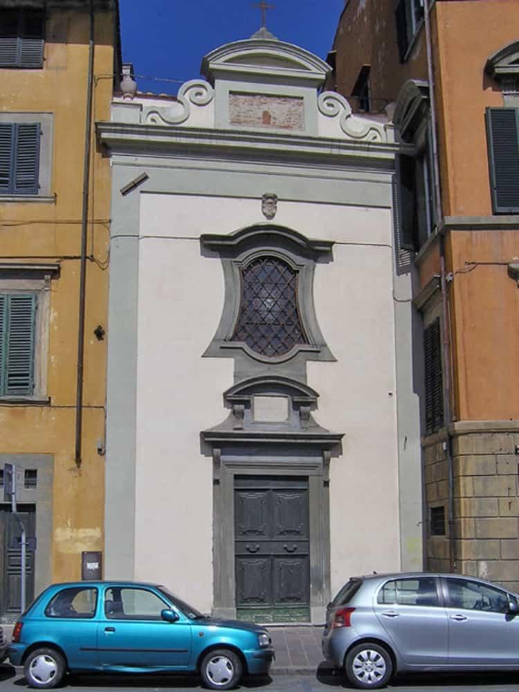 Город Пиза и его достопримечательности - Церковь Мадонны Галлетти
