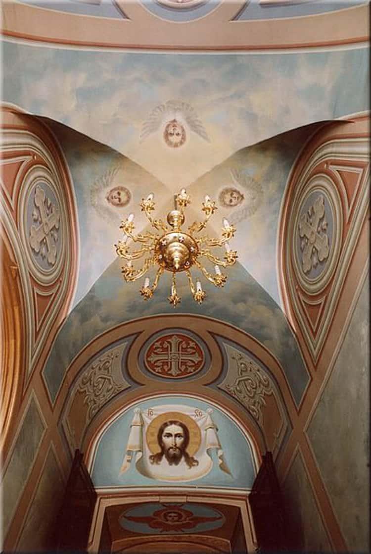 Храм Бориса и Глеба в Дегунино и его внутреннее убранство