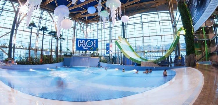 h2o аквапарк с басейном - Волновой