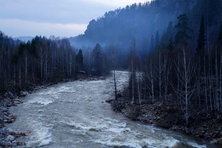 Южно Уральский Заповедник даже в непогоду очень красив