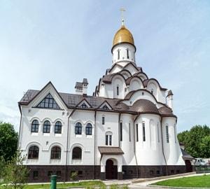 Храм в честь св. блгв. кн. Александра Невского построен при МГИМО по инициативе студентов и преподавателей