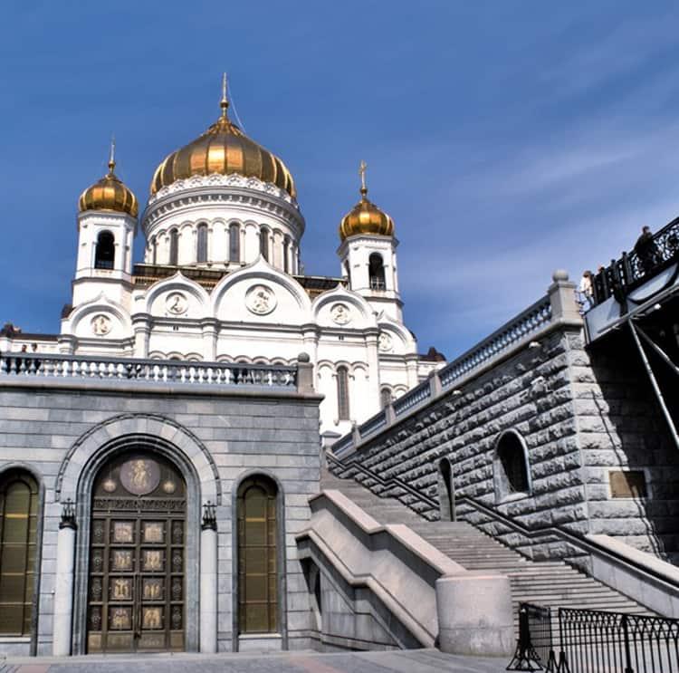 Архитектурный ансамбль Храма Христа Спасителя