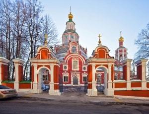 Храм Иоанна Воина на Якиманке очень любят посещать прихожане