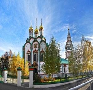 Храм Николая Чудотворца в Хамовниках очень интересен своими святынями