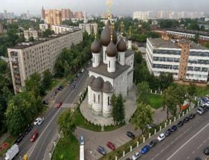 Храм Сергия Радонежского на Рязанке очень нравится туристам