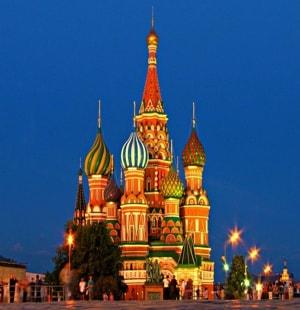 Необычайно красивый храм Василия Блаженного, или Собор Покрова Пресвятой Богородицы
