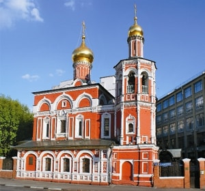 Храм всех святых на Кулишках - православный храм Покровского благочиния Московской епархии