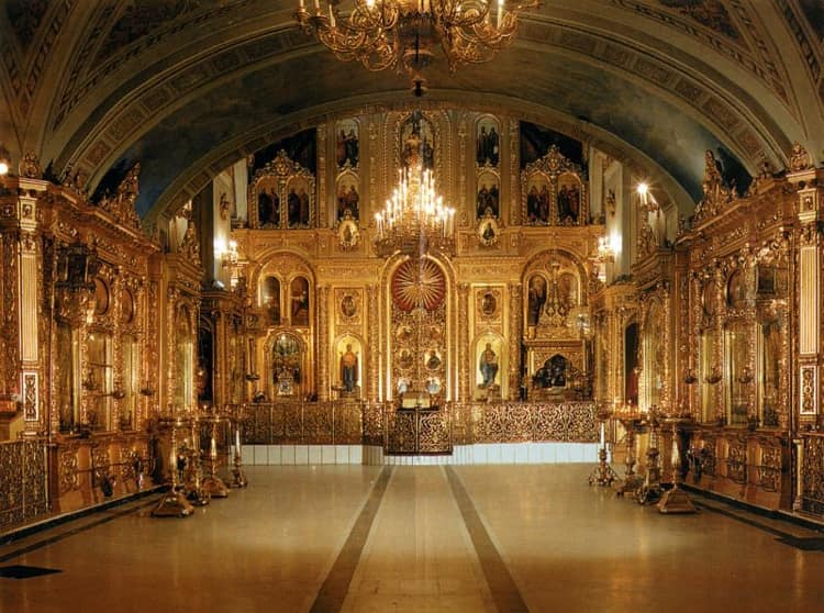 Елоховский собор - и его красивый иконостас
