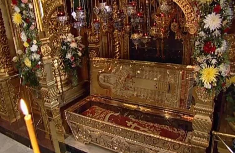Елоховский собор и его святыня - мощи святителя Алексия