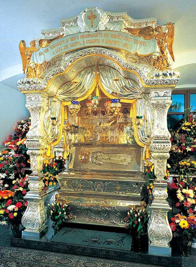 Храм Матроны на Таганке и его рака с мощами святой Матроны