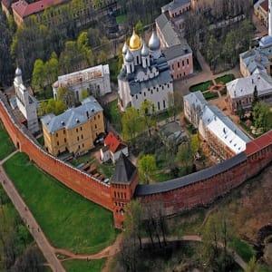 Софийский собор в Новгороде - главный православный храм Великого Новгорода