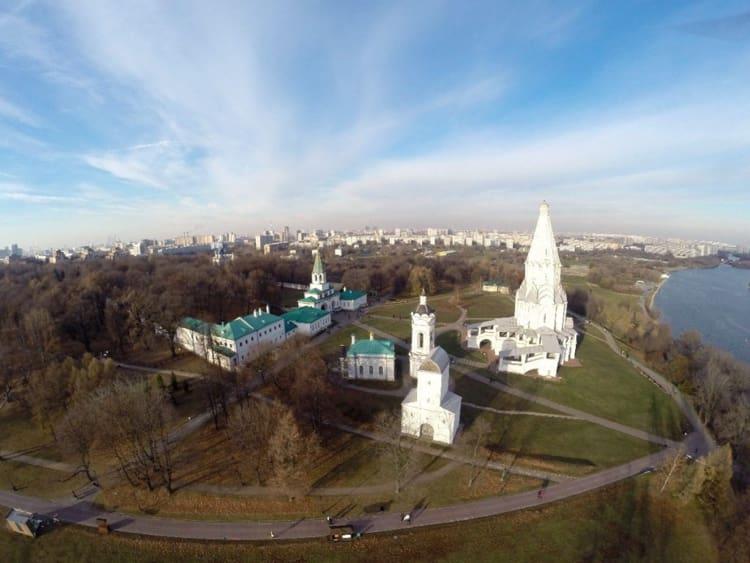 Церковь Вознесения в Коломенском очень красива и необычна