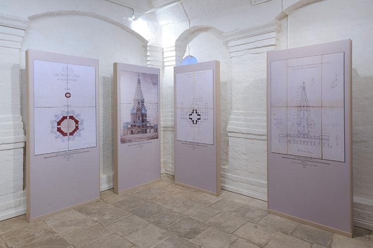 Церковь Вознесения в Коломенском и ее достопримечательность - выставка Тайны церкви Вознесения