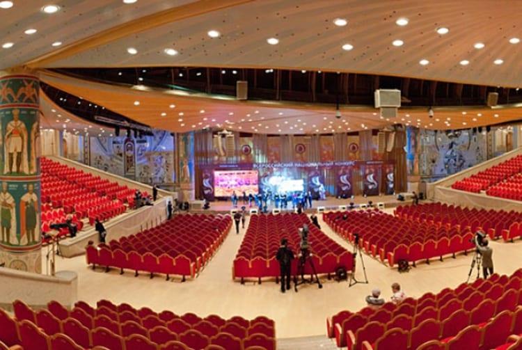 Храм Христа Спасителя и его архитектура - залВысшего Верховного Совета
