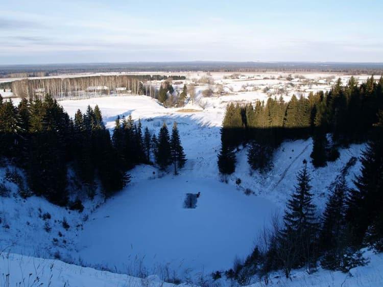 Южно Уральский Заповедник в зимнее время